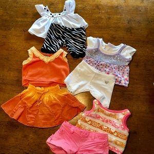 RARE Build a Bear Girls Outfit Bundle